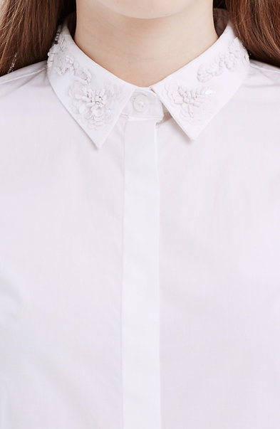 Embellished Tailored Shirt