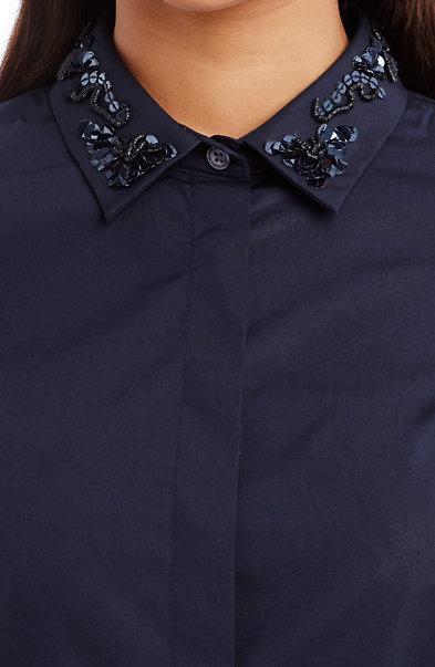 Embellished Tailored Shirt