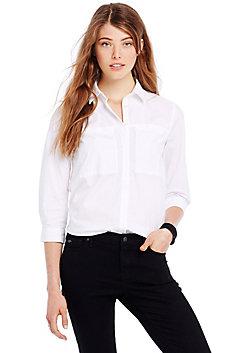 Poplin Cocoon Shirt