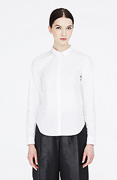Slim Tailored Poplin Shirt