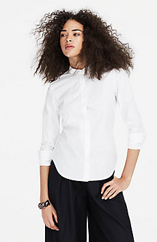 Tailored Poplin Shirt