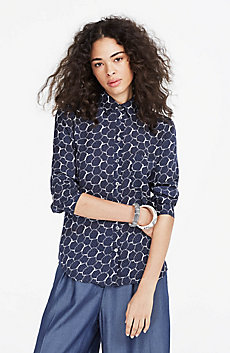 Printed Boxy Shirt
