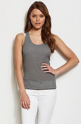 Striped Cut Out Tank