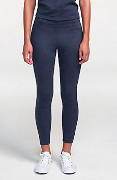 Sueded Jersey Leggings