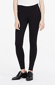 Ponte Zip Legging