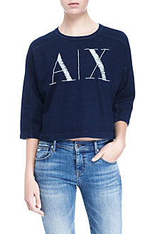 AX Graphic Crop Top