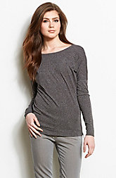 Dolman Sleeve Space Dyed Top