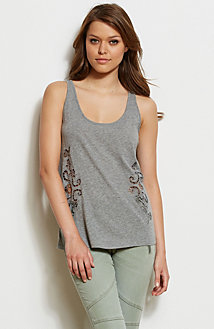 Lace Cut-Out Tank