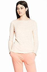 Linen Long Sleeve Boatneck
