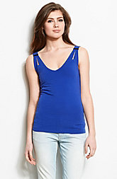 Shoulder Slit Tank