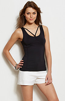 Cross Strap Tank<br>Online Exclusive