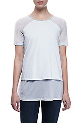 Layered Embellished Tee<br> Online Exclusive