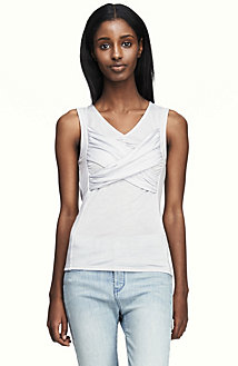 Ruched Contoured Top<br> Online Exclusive