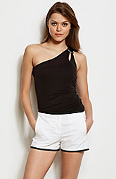 One Shoulder Cut-Out Top