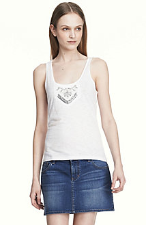 Embellished Tank<br> Online Exclusive