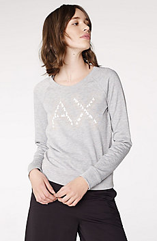Crackle Foil Logo Sweatshirt