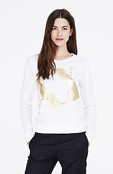 Feathered Foil Sweatshirt