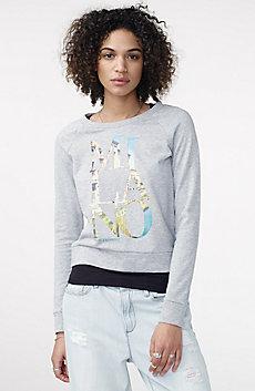 Milan Graphic City Sweatshirt Top
