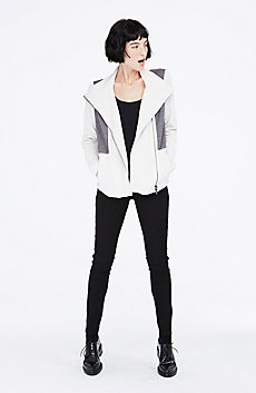 Pieced Asymmetrical Jacket