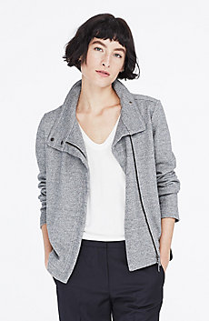 Quilted Marled Jacket