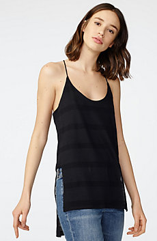 Mesh High-Low Cami