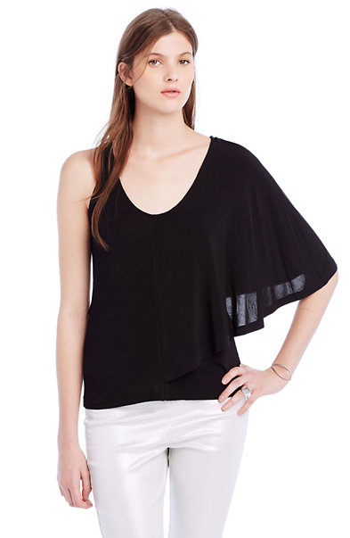 Asymmetrical Cape Top