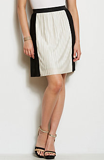 Pleated Panel Skirt<br>Online Exclusive