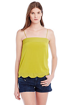 Scalloped Camisole Top