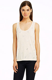 Crystal Embellished Tank
