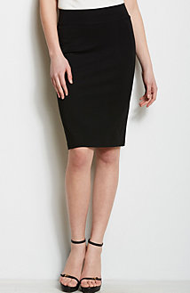 Color Block Pencil Skirt