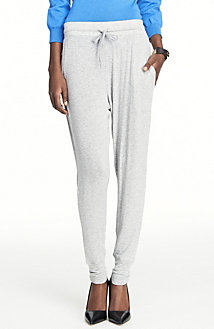 Slinky Ribbed Lounge Pants