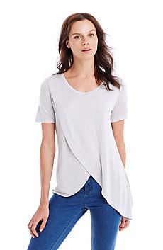 Crossover Drape Top