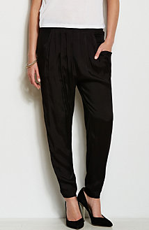 Silky Front Slouch Trouser<br>Online Exclusive