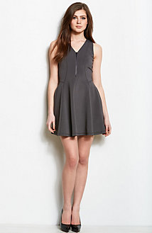 Zip Front Swing Dress<br>Online Exclusive