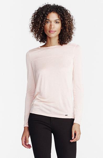 Long-Sleeve Sleek Jersey Top