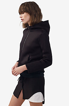Double-Layer Mesh Hoodie