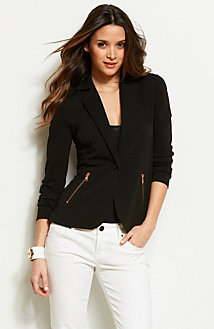 Zippered Blazer