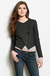 Cropped Wrap Jacket