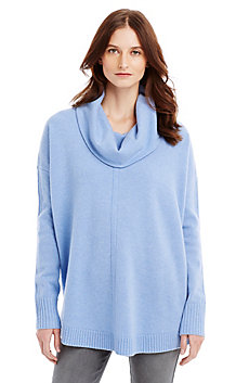 Cashmere Cowlneck Poncho