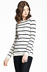 Essential Striped Pullover