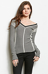 Banded Back Sweater