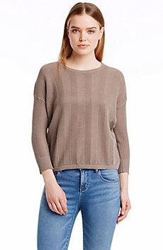 Chevron Open Stitch Sweater