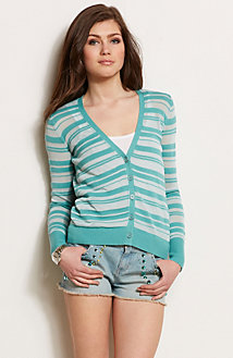 Striped Cardigan<br>Online Exclusive