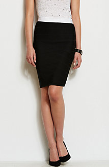 Colorblock Bandage Pencil Skirt<br>Online Exclusive