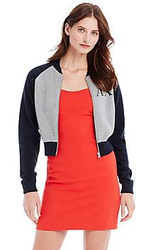 Logo Sweater Jacket