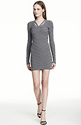 Textured Cutout Sweater Dress <br> Online Exclusive