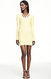 Textured Cutout Sweater Dress<br> Online Exclusive