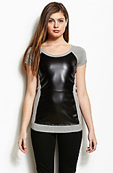 Leatherette Tunic