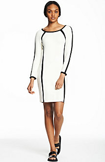 Contrast Bodycon Dress<br>Online Exclusive