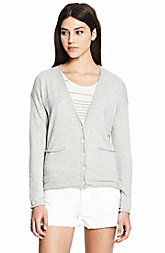 Cotton Cashmere Easy Cardigan